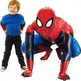 Airwalker Spiderman cm 91×91 per le tue feste in tema Uomo Ragno