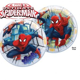 Palloncino Bubbles 3D per le tue feste in tema Spiderman