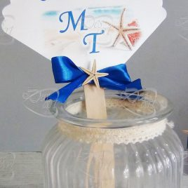 stick Confettata in carta perla