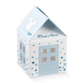 Scatolina Disney forma Casetta Michey Mouse Star 10pz