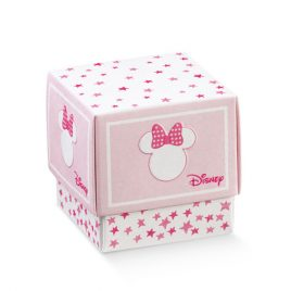 Scatolina Disney Portaconfetti Minnie Star 10pz