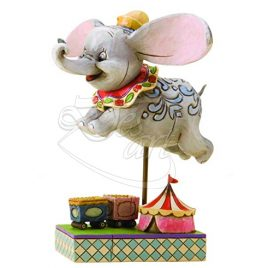Dumbo in volo by Jim Shore – Disney