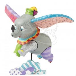 Dumbo in volo statuina Multicolore